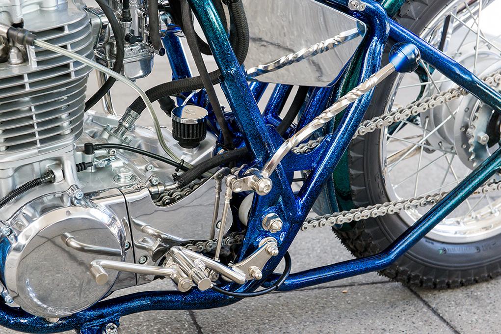カスタムバーニング掲載バイク